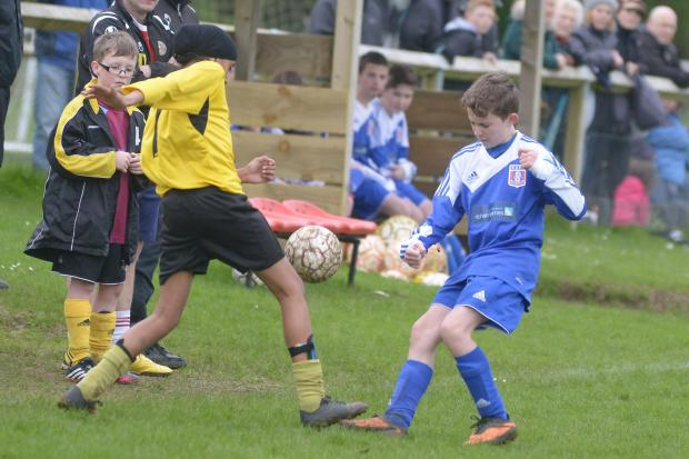 This Is Wiltshire: Supermarine G Under 13's Will Barron and Shaw's TJ in action