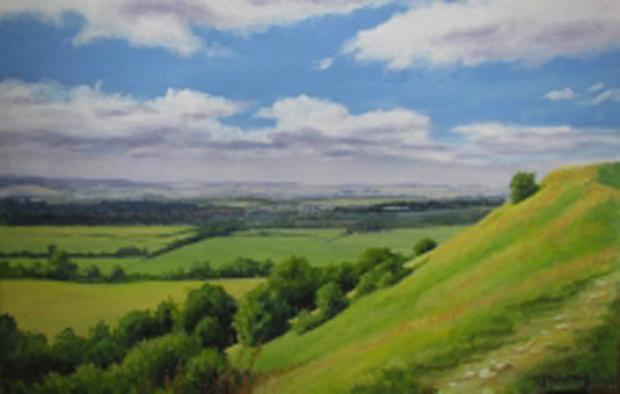 This Is Wiltshire: Gran's artwork goes on show