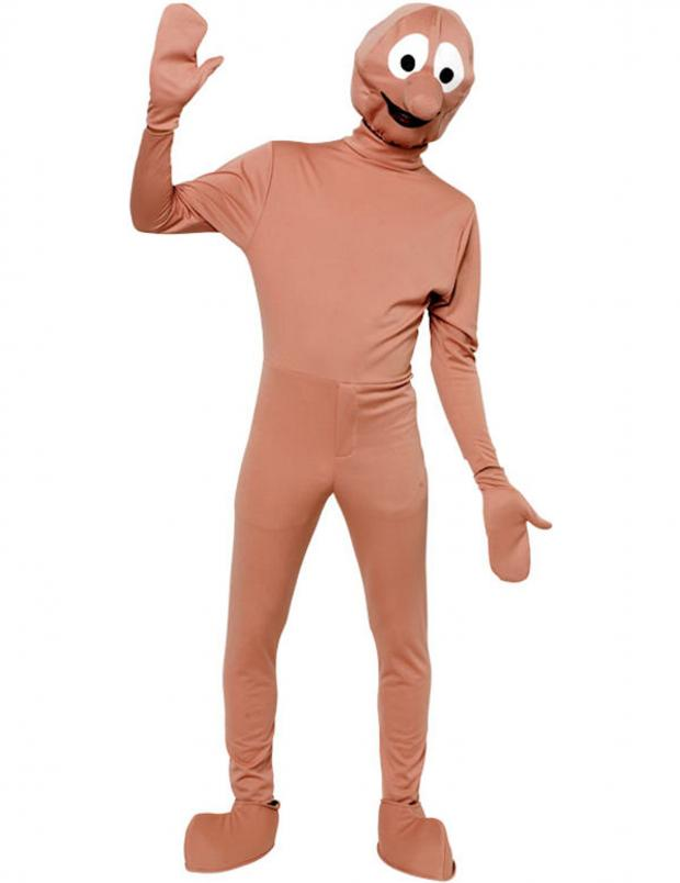 This Is Wiltshire: A Morph costume like the one used by Michael Carvey