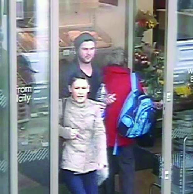 This Is Wiltshire: Police wish to identify this pair after a spate of meat thefts