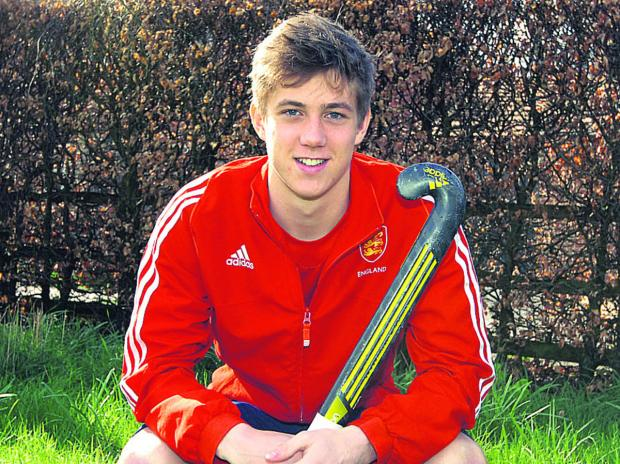 This Is Wiltshire: Will Seward will play for England's U18s in the Nations Cup later this month