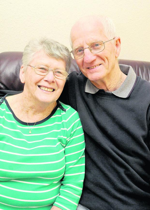 This Is Wiltshire: Ann and David married two years after their first meeting