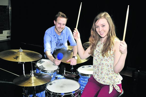This Is Wiltshire: Musicians Steve Lodge and Rose White will be presenting shows on Kik Radio.