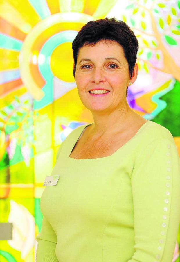 This Is Wiltshire: Angela Jordan, Chief Executive of Prospect Hospice