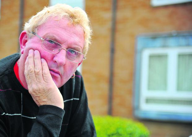 This Is Wiltshire: Brian Waite, whose partner had his flat cleared out when he was away, has denied he ever cheated on her