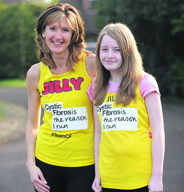 This Is Wiltshire: Jilly Moore and her daughter Alice