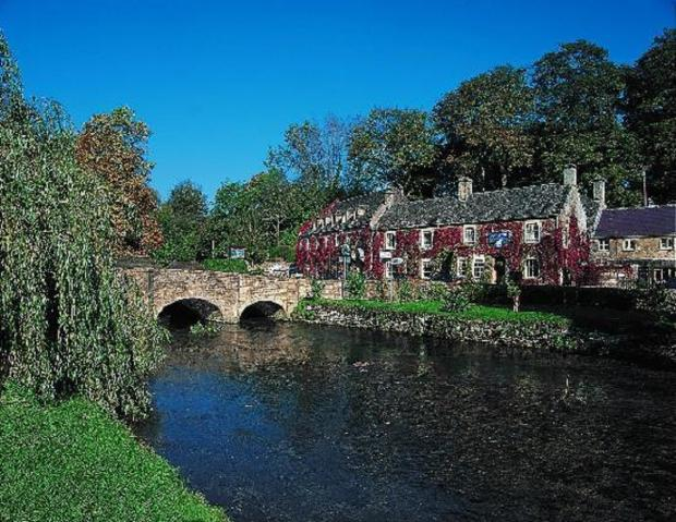 This Is Wiltshire: The River Coln in Bibury