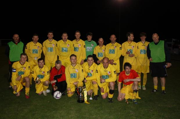 This Is Wiltshire: Wallingford Town reserves lifted the North Berks League Cup with victory over Faringdon Town A