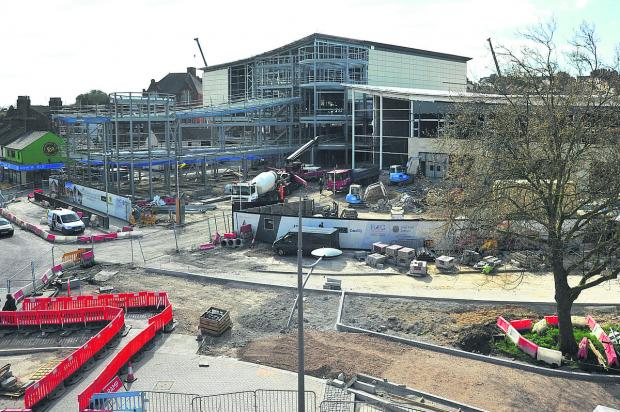 This Is Wiltshire: Regent Circus is on schedule for autumn