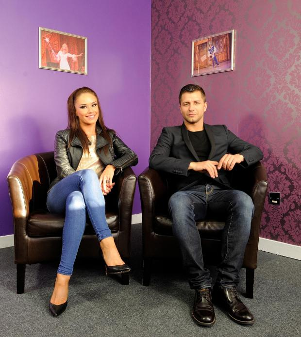 This Is Wiltshire: Strictly stars Katya Virshilas and Pasha Kovalev