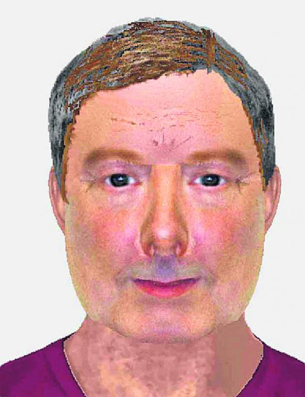 This Is Wiltshire: Police have released an e-fit picture of a man who stripped naked in a charity shop in Malmesbury and exposed himself