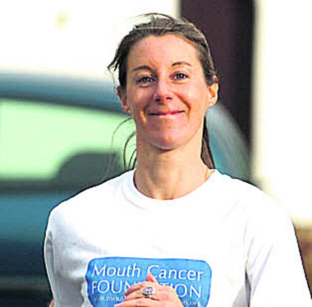 This Is Wiltshire: Calne ladies run in memory of friend's husband