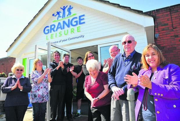 This Is Wiltshire: The official opening of Grange Leisure which has been refurbished