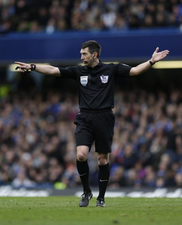 This Is Wiltshire: Lee Probert will referee next month's FA Cup final