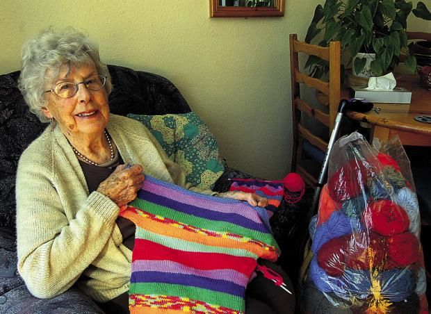 This Is Wiltshire: Val Fuller has knitted jumpers for children in Gambia