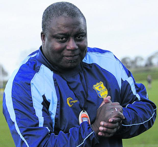 This Is Wiltshire: Trowbridge coach Steve Ojomoh
