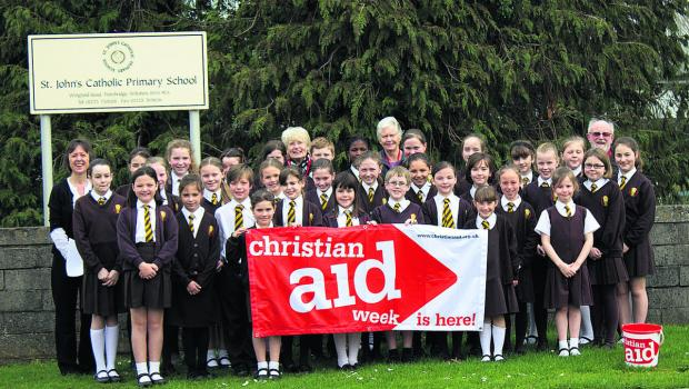 This Is Wiltshire: St John's Catholic Primary School pupils