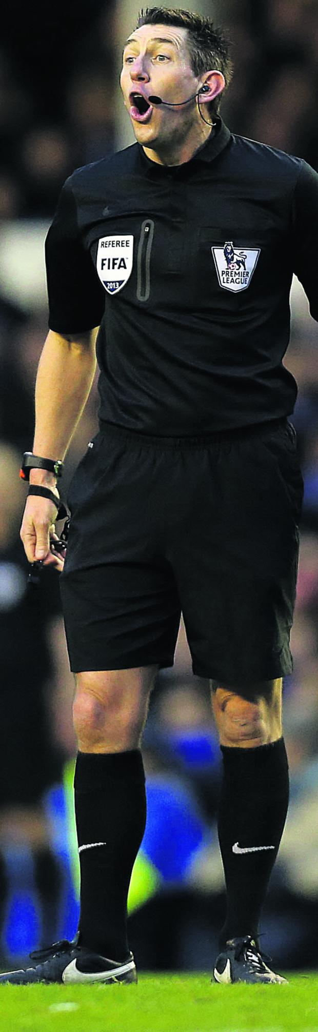 This Is Wiltshire: Lee Probert will take charge of the FA Cup final between Arsenal and Hull City next month