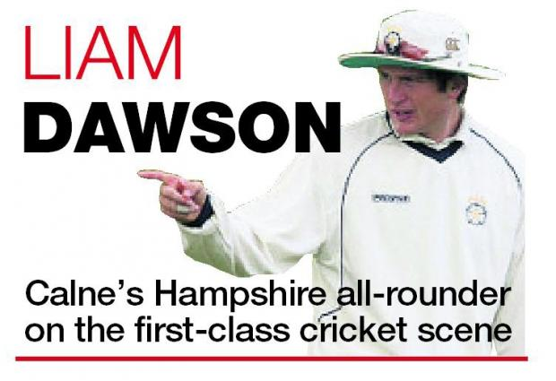 This Is Wiltshire: LIAM DAWSON: Room for improvement as my comeback starts to take shape