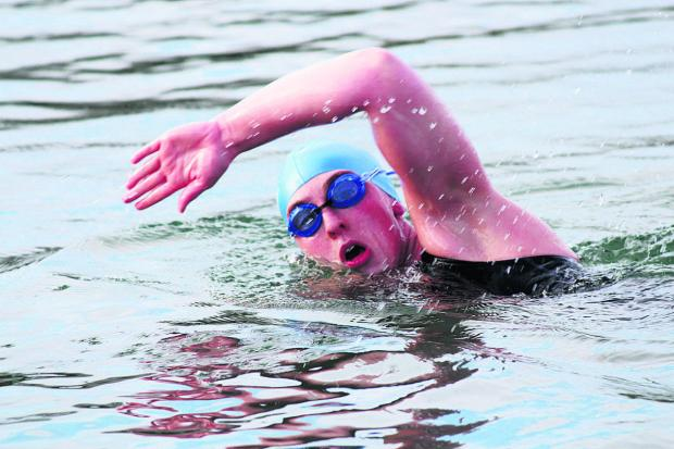 This Is Wiltshire: Jo Blount training for open water swimming