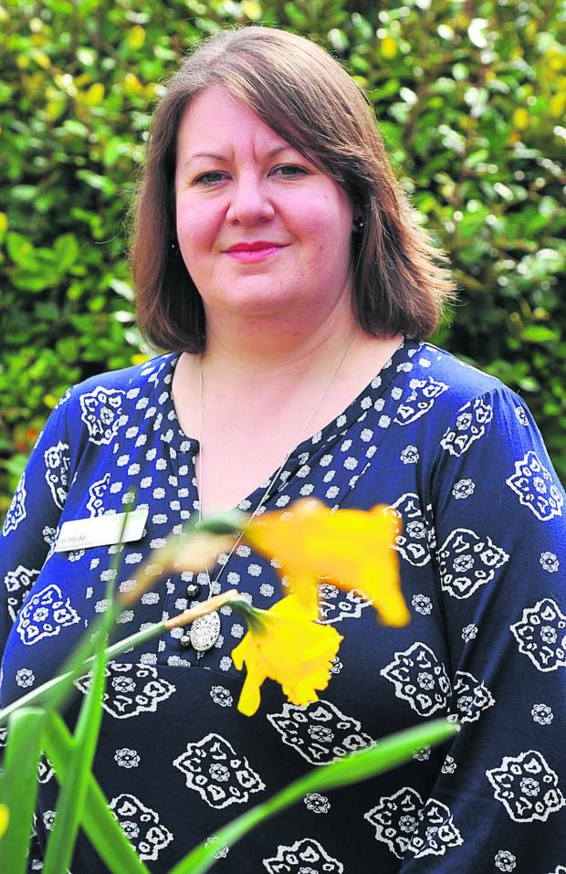 This Is Wiltshire: Jo Hyde, Carer Support Nurse from the Family Support Team