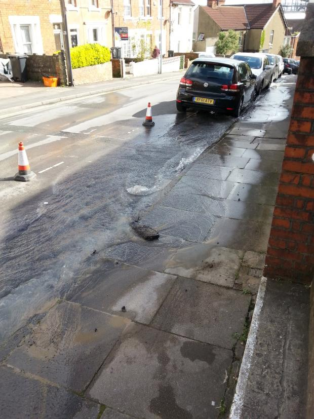 This Is Wiltshire: Burst main leaves 30