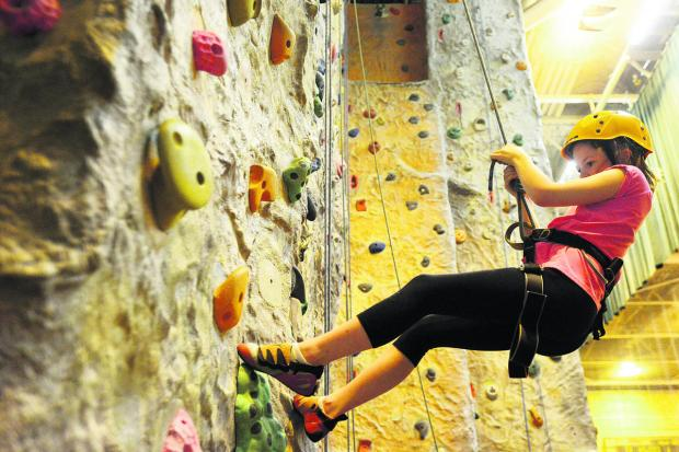 This Is Wiltshire: Kids are climbing the walls over the holidays