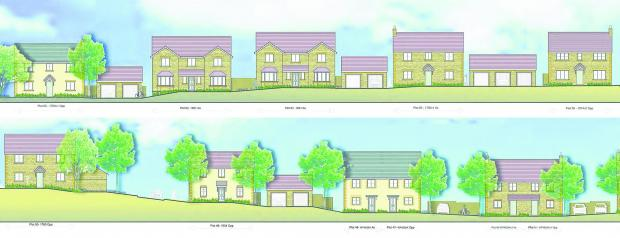 This Is Wiltshire: The design of the new houses at Hook Street