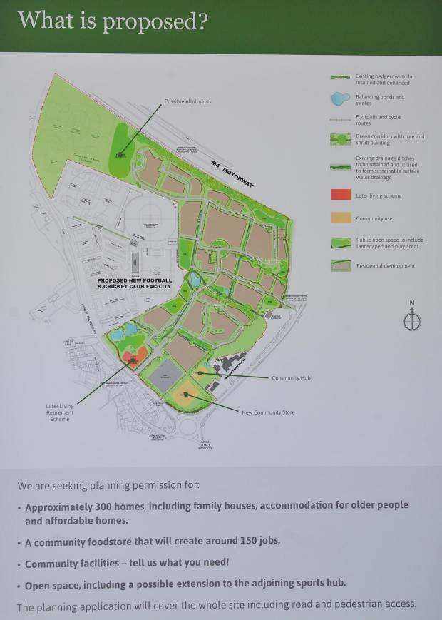 This Is Wiltshire: The proposal for the Marsh Farm development
