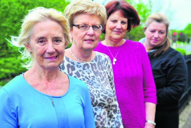 This Is Wiltshire: Here to help are Margaret Bradbury , Janet Holland and Jenny Carter