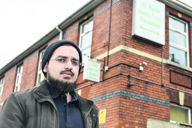 This Is Wiltshire: Muhammad Zahid who had his phone, laptop and cards stolen from his room in the Islamic Centre