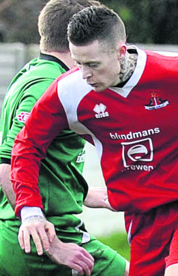 This Is Wiltshire: Jon Vance's goal helped Frome earn a draw on Monday