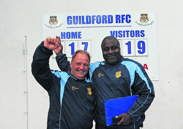 This Is Wiltshire: First team manager Nobby Knight and head coach Steve Ojomoh