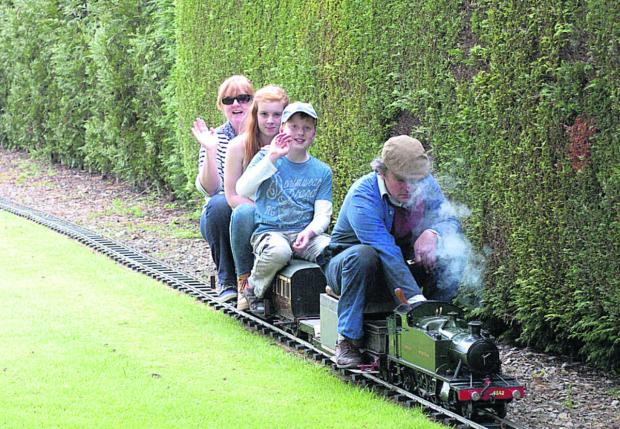 This Is Wiltshire: Full steam ahead at the Bulkington miniature train event
