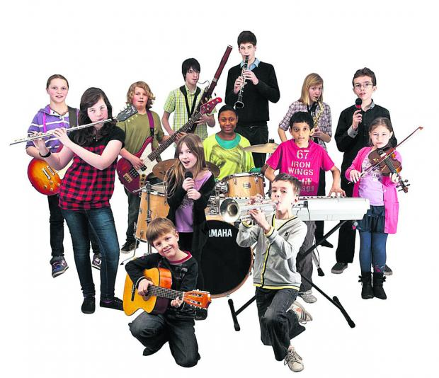 This Is Wiltshire: In perfect harmony – an ensemble of instrumentalists who are studying with Swindon Music Co-operative