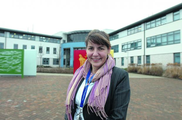 This Is Wiltshire: Julie Tridgell, outgoing Nova Hreod headteacher