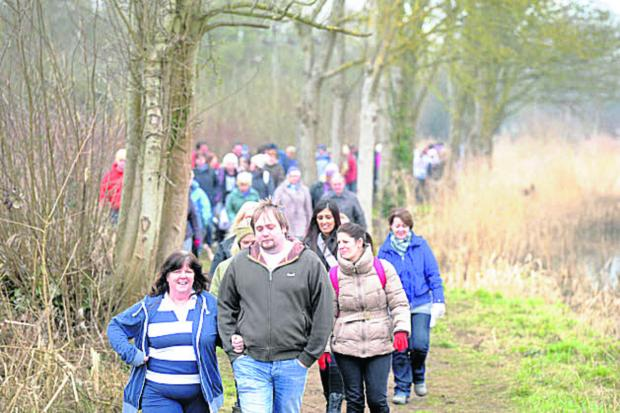 This Is Wiltshire: Last year's Walk of Memories