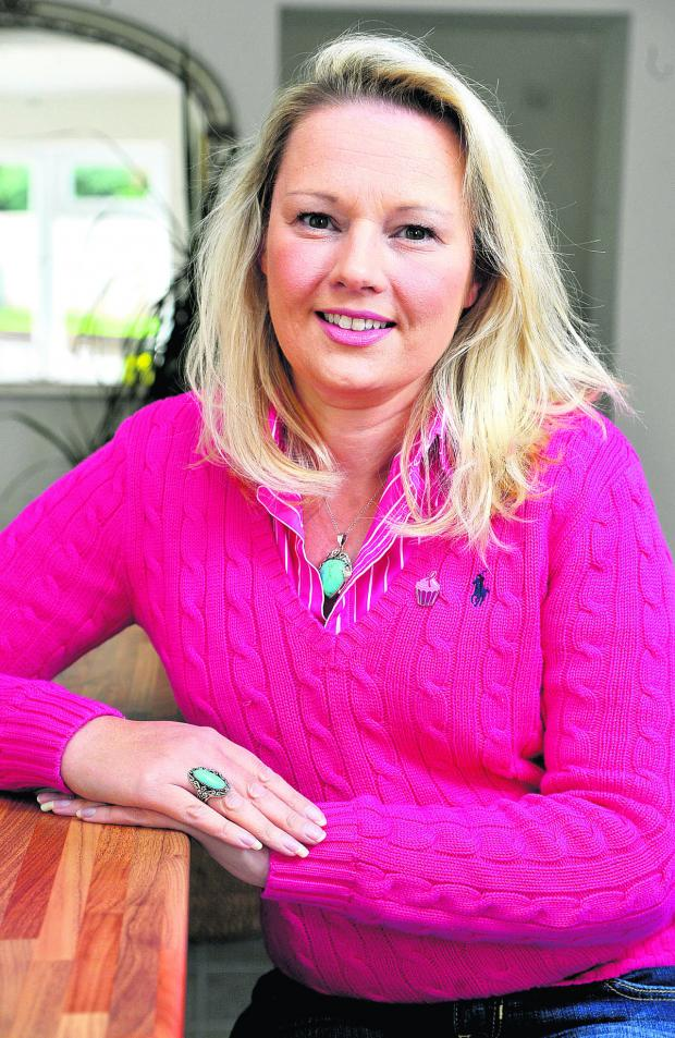 This Is Wiltshire: Breast cancer survior Tracey Kidman-Pepper