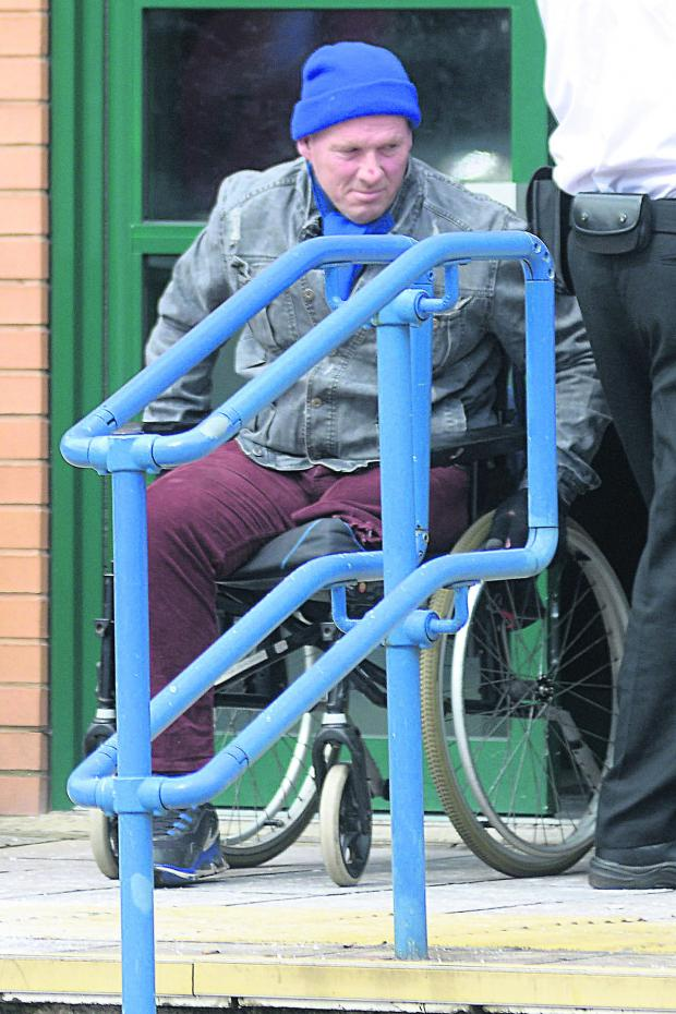 This Is Wiltshire: Bomb hoaxer Stephen Strange leaving court