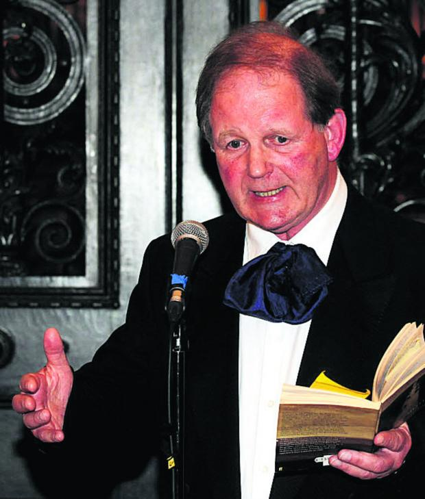 This Is Wiltshire: War Horse author Michael Morpurgo speaks at Bowood