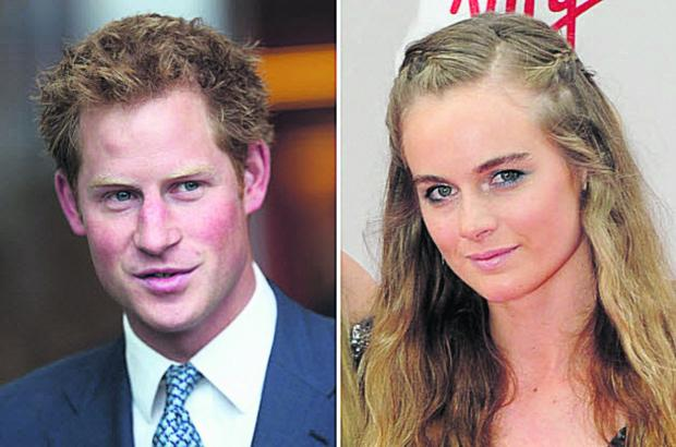 This Is Wiltshire: Prince Harry and girlfriend Cressida Bonas have split up, it has been announced, just hours after the prince visited Wiltshire
