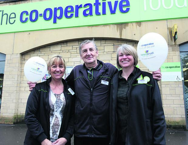This Is Wiltshire: From left, duty manager Julie Edwards, Trevor Martin and Claire Summers