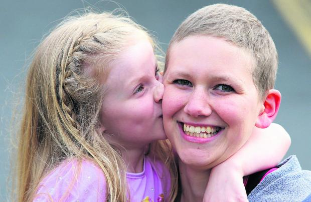 This Is Wiltshire: Carley Hancock with daugher Lexie.    Picture: STUART HARRISON