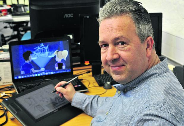 This Is Wiltshire: Former Disney animator has a new adventure