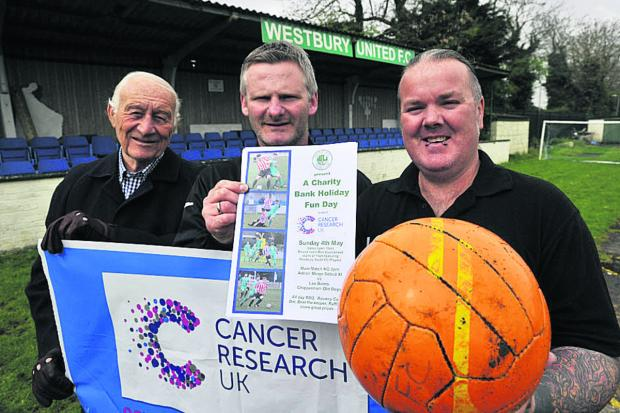This Is Wiltshire: Westbury football club netting cash for charity