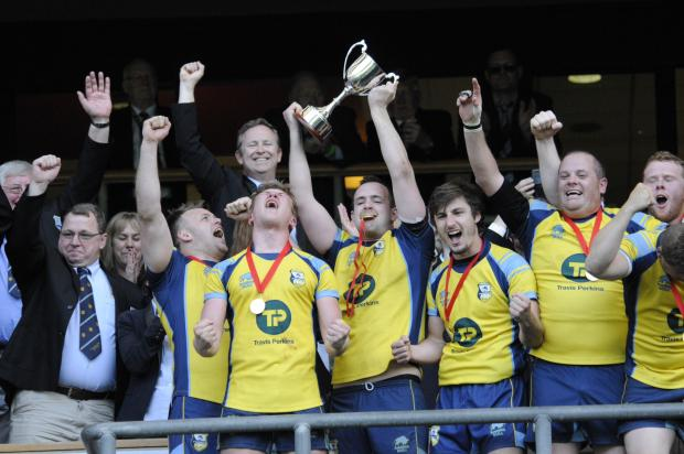 This Is Wiltshire: RUGBY: Trowbridge clinch cup triumph at Twickenham