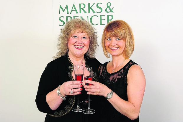 This Is Wiltshire: Linda McKinley and her daughter Claire Hillier