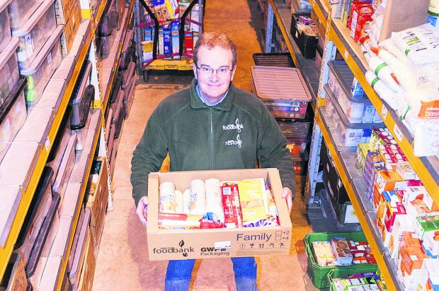 This Is Wiltshire: David Hartridge, from Swindon Foodbank
