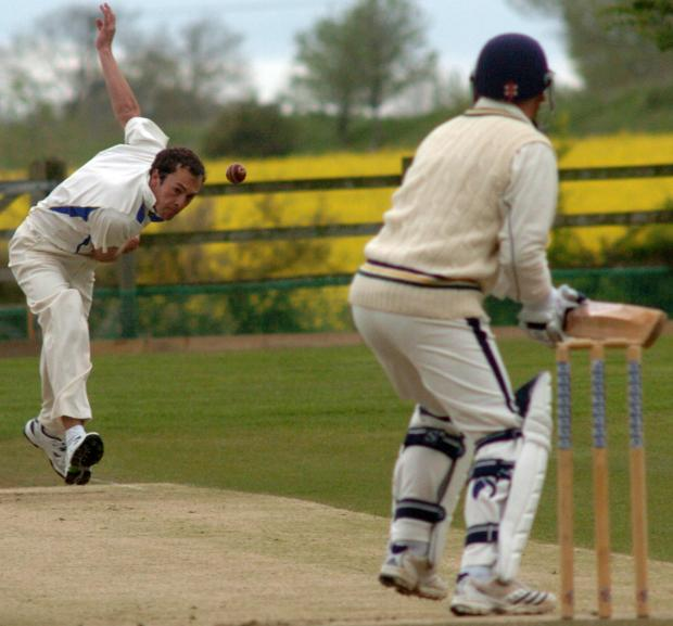 This Is Wiltshire: Potterne's Ben Mason took five Goatacre wickets