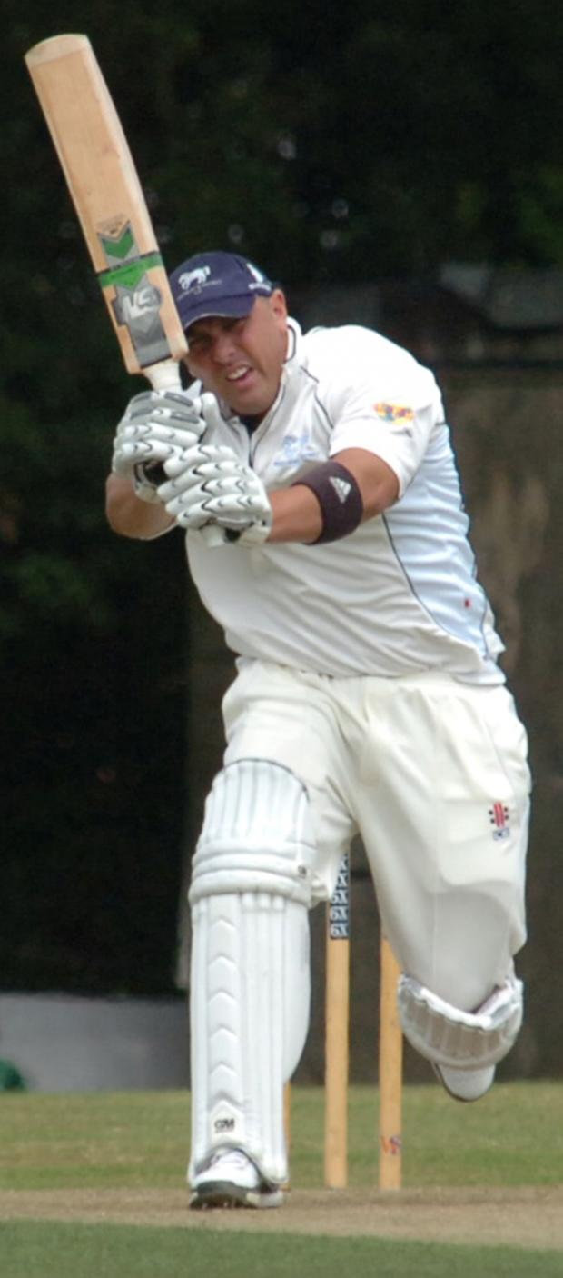 This Is Wiltshire: Joe Breet scored a century for Lechlade this season